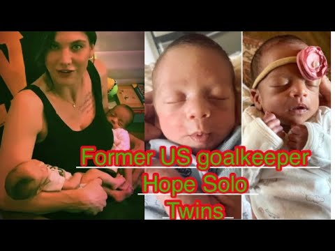 Hope Solo and Jerramy Stevens announce the birth of their twins ...