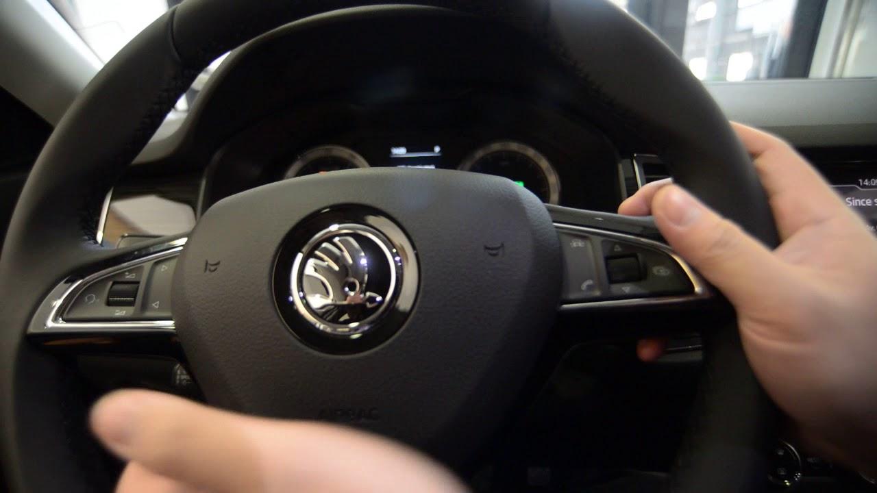 2018-02-13 SKODA KODIAQ 自動上鎖 車門解鎖 系統設定 行車電腦 油耗 - YouTube