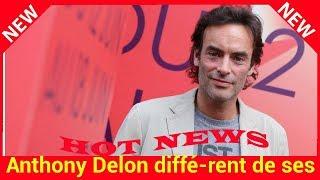 Anthony Delon différent de ses frères et soeurs il explique pourquoi