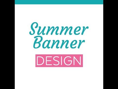 Cool Photoshop Text Effect – Summer Sale! Web Design Banner