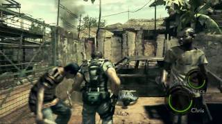 Resident Evil 5 demo - mission 1 - no weapons