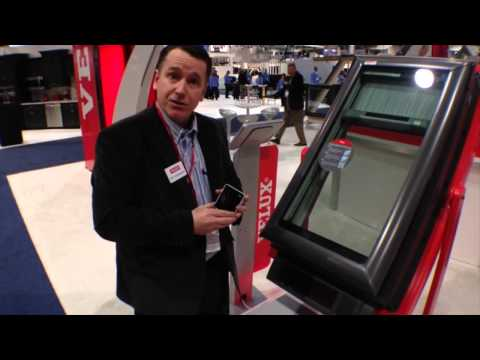 VELUX America Inc. featured at Day 1 of the NAHB International Builders' Show in Las Vegas, Nevada