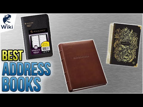 10 Best Address Books 2018