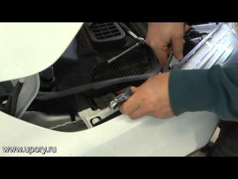 Установка амортизаторов упоров капота для Ford Kuga 2 арт. KU FD KG02 00 от upory.ru