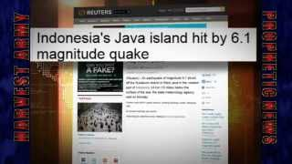 INDONESIA Double TROUBLE! 6.1 & 5.8 EARTHQUAKE SWARM... June 4, 2012. Prediction.