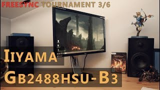 iiyama G-Master GB2488HSU-B3 Review: Red Eagle 144 Hz Full HD TN Freesync Gaming Monitor