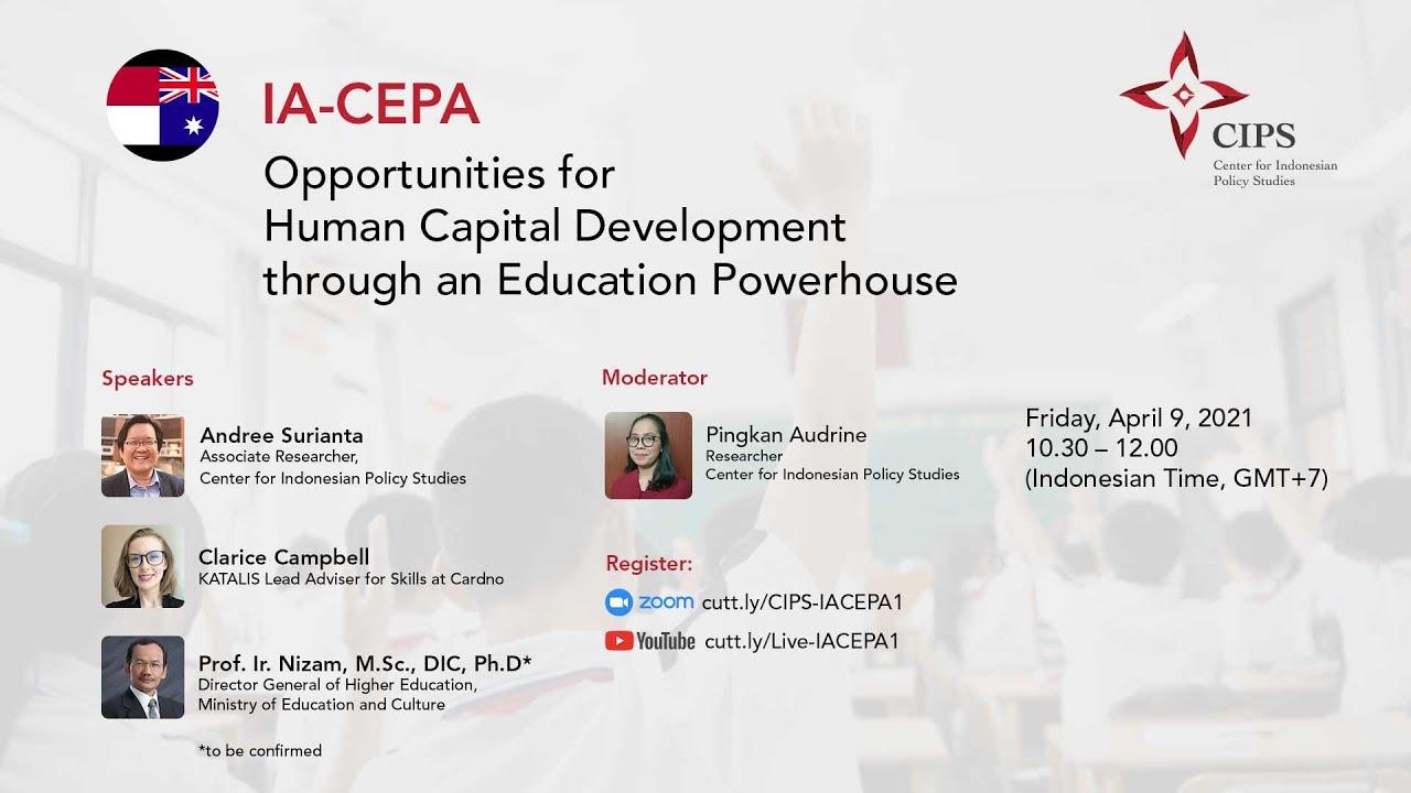 Siaran Pers | Kemitraan IA CEPA, Jalan Peningkatan Akses Pendidikan Tinggi di Indonesia