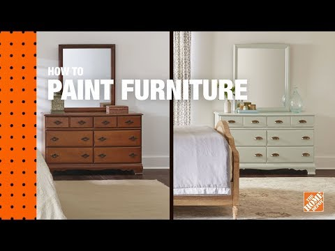 How To Paint Furniture Refinishing Wood Furniture The Home