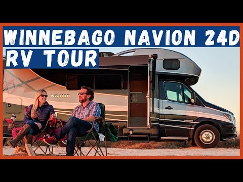 2019 Winnebago Navion 24D  Tour Our Home on Wheels!