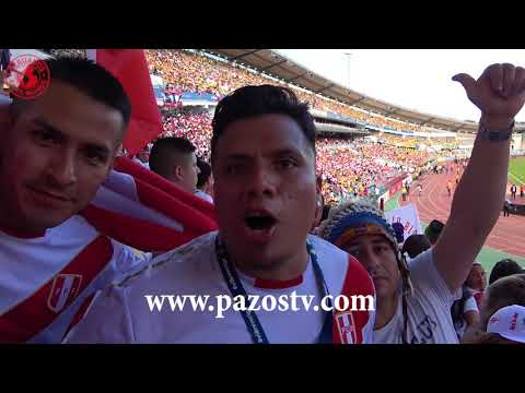 Peru vs Suecia (Gotemburgo) PeruanosEnElMundo - EdicionMundialista con Roberto Pazos
