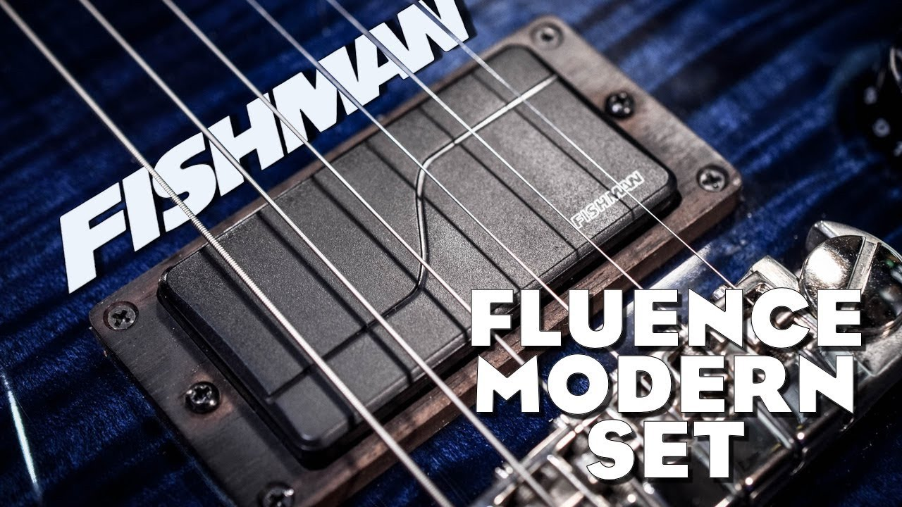 Fishman Fluence Modern Set - Review - YouTube