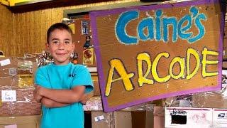 CAINE'S ARCADE - Incredible Boy's Homemade Cardboard Arcade Documentary