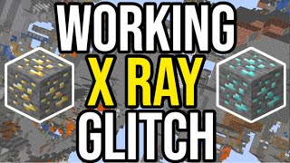 WORKING Minecraft X Ray Glitch (Xbox/Ps4/PE)