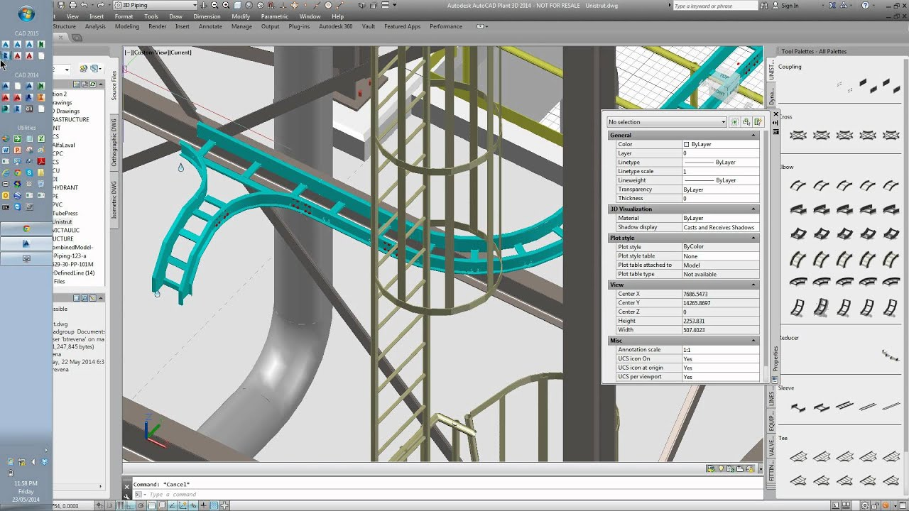 Cable Ladder In Plant 3d Youtube