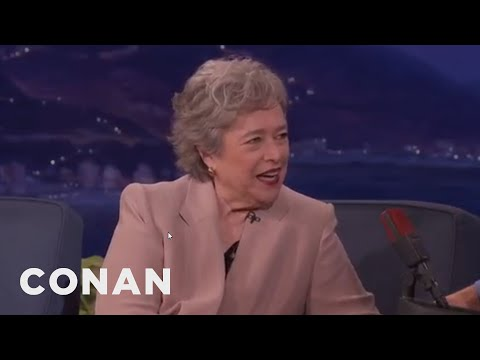 "Kathy Bates: My Mother Thought I Was Playing Myself In ""Misery""  - CONAN on TBS"