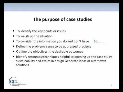 Writing A Case Study At Master's Level YouTube