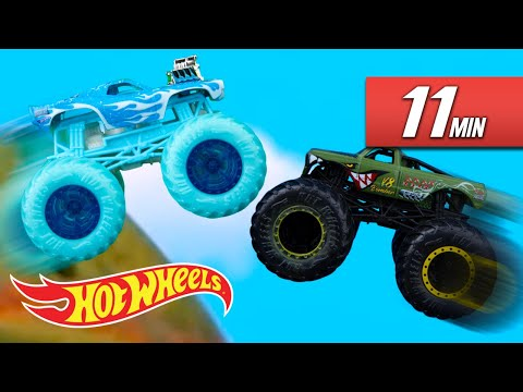 The Best SHARK-TASTIC Hot Wheels Moments! | Hot Wheels
