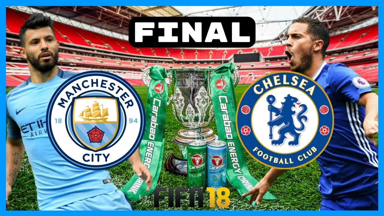 Image result for EFL Carabao Cup Final  Chelsea vs Manchester City Live pic logo