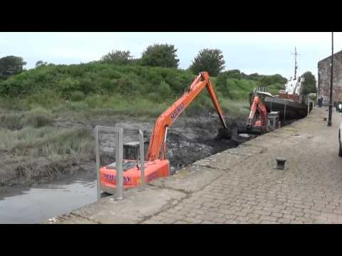 ANNAN HARBOUR DESILTING WORK 200715