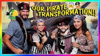 OUR ULTIMATE PIRATE TRANSFORMATION! | We Are The Davises