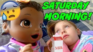 BABY ALIVE has SATURDAY MORNING! The Lilly and Mommy Show! The TOYTASTIC Sisters! FUNNY SKIT