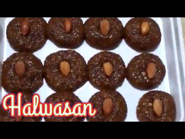 Halwasan. Gujarati Special Sweet