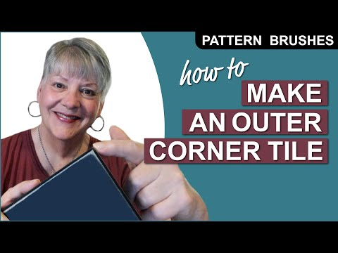 How To Make an Outer Corner Tile For a Pattern Brush in Adobe Illustrator