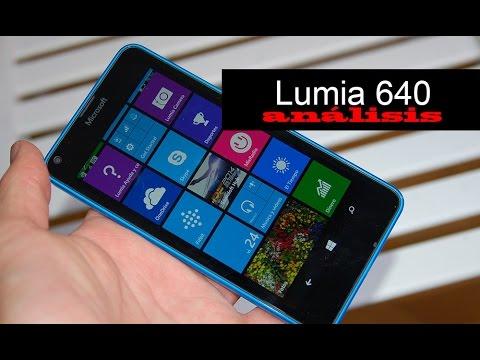 Microsoft Lumia 640 LTE / Dual SIM review (español)