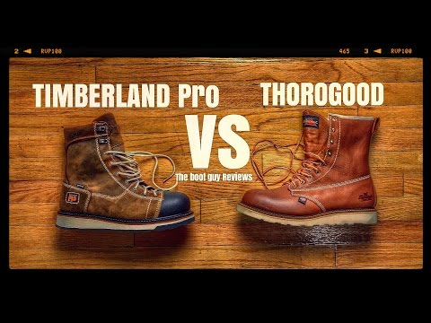 40e2607a9cd VOTE! Thorogood vs Timberland pro [ The Boot Guy Reviews ] - YouTube