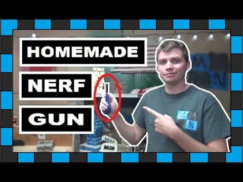 3 Super Simple DIY Nerf Guns!!! // How to build A Nerf Gun!!!