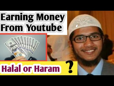 Earning Money From Youtube is Halal or Haram