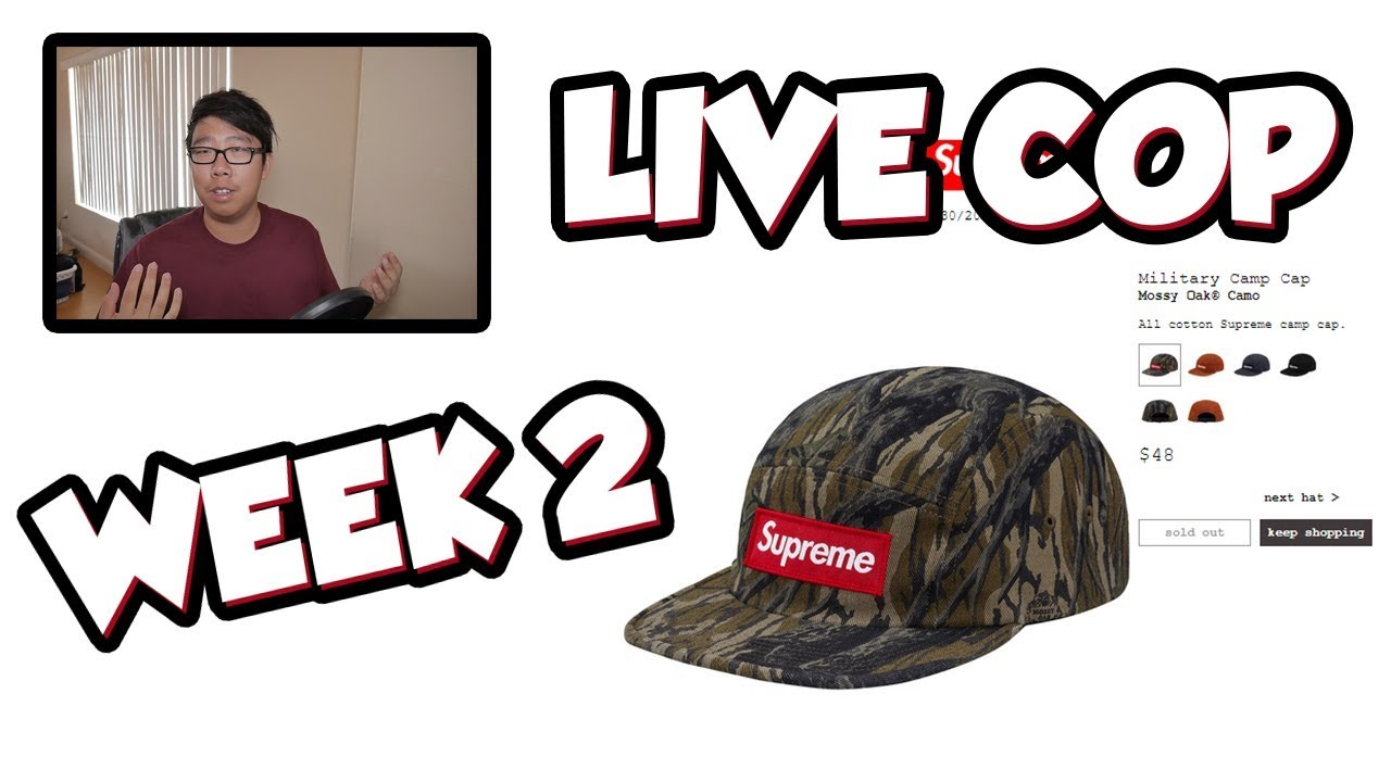 c2776664b EASIEST LIVE COP EVER!?! (SUPREME FW18 WEEK 2 MANUAL LIVE CHECKOUT ...