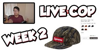 EASIEST LIVE COP EVER!?! (SUPREME FW18 WEEK 2 MANUAL LIVE CHECKOUT)