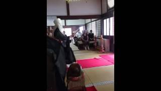 亀岡市、専念寺の施餓鬼会2016