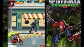 Spiderman Toxic City 1MB 240x320 Gameloft