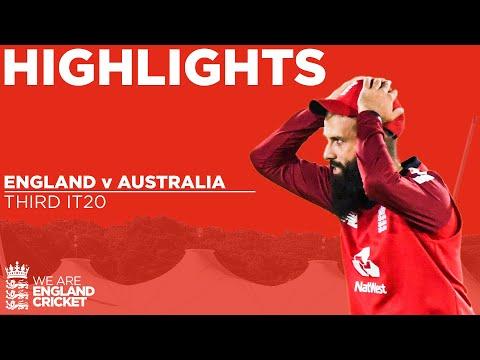 England V Australia - Highlights | Australia Squeeze To Consolation Win | 3rd Vitality IT20 2020