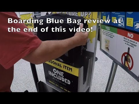 Flying Spirit With NEW Personal Item Bag 18x14x8 Bag Sizer And Under Seat Footage!