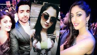Kaleerein (कलीरें) star cast off screen masti at zee gold award 2018, Aditi Sharma, Arjit Taneja