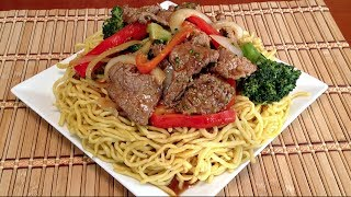 Chow Mein-How To Cook Beef Chow Mein Stir Fry Noodles-Asian Food Recipes