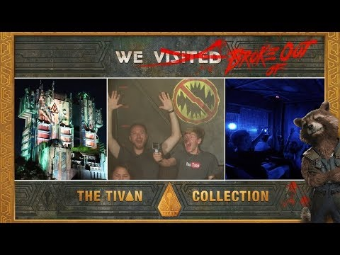Riding Guardians Of The Galaxy for the first time, Disneyland Park and IN-N-OUT Burger!