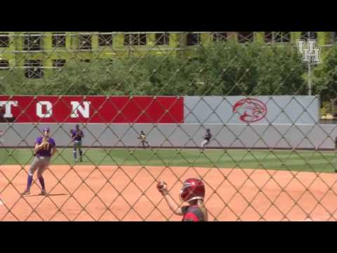 Houston Softball: Savannah Heebner Walkoff vs. ECU