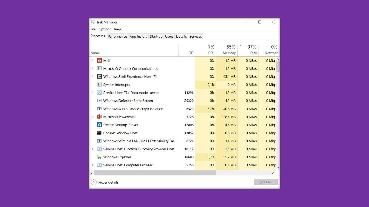Cách cách khởi động Lại File Explorer Trong windows 10