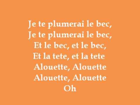 Alouette (Dance Moms) - Lyrics