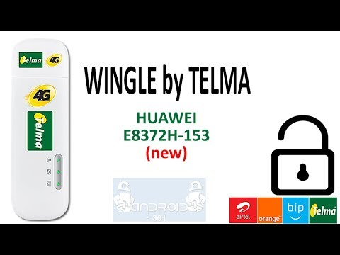 DÉCODAGE WINGLE TELMA (nouvelle version) - Huawei E8372