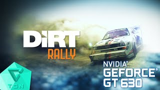 DiRT Rally | Gameplay ON GT630 2GB DDR3 [HD 60FPS]