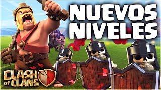 2º SNEAK PEEK - NUEVOS NIVELES Y CAMBIOS IMPORTANTES - Próxima Actualización de Clash of Clans