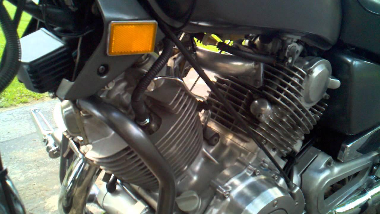 81 Yamaha Virago XV750 (Single Carburetor Manifold)  YouTube