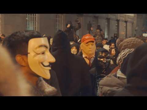 Million Mask March - London 2017