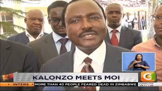 Kalonzo meets Moi