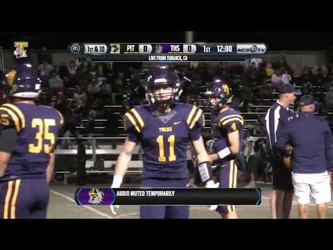 Pitman vs Turlock High School Football - Harvest Bowl - LIVE 11/3/17